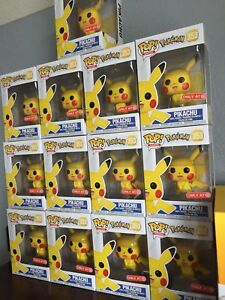 Image Is Loading BRAND NEW Funko Pop Pokemon PIKACHU Target Exclusive