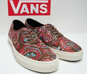 8433f8c69f Image is loading VANS-Authentic-CA-Paisley-Olive-VN-000ZUII2U-Men-