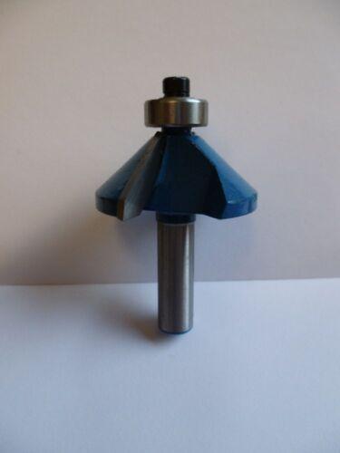 756520 KWB 35,5mm HM Fasenfräser 45° für Oberfräse Fräser