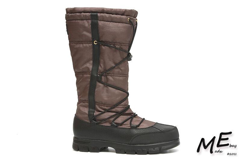 New Lauren Ralph Lauren Quinly Damens Stiefel Größe 6 Braun (MSRP 140)
