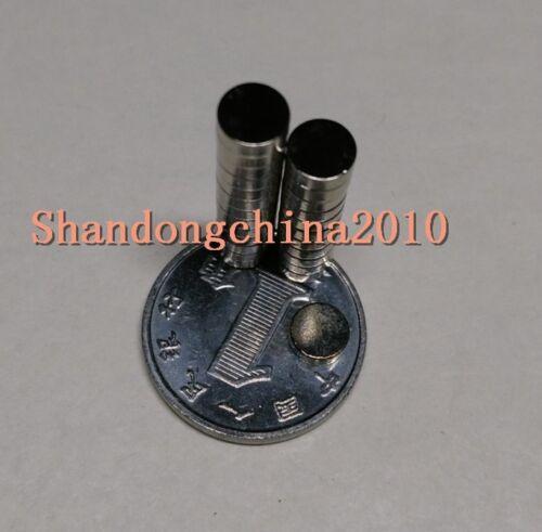 Neodymium Disc Mini 5mmX1.5mm Rare Earth N35 Strong Magnets Craft Models