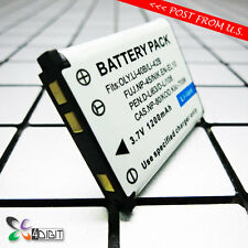 D-Li63 Li108 DLI63 DLI108 Battery for Pentax Optio L40 LS1100 LS465 M30 M40 M90