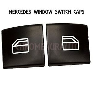 Window switch cap master switch for mercedes left right for Mercedes benz window switch