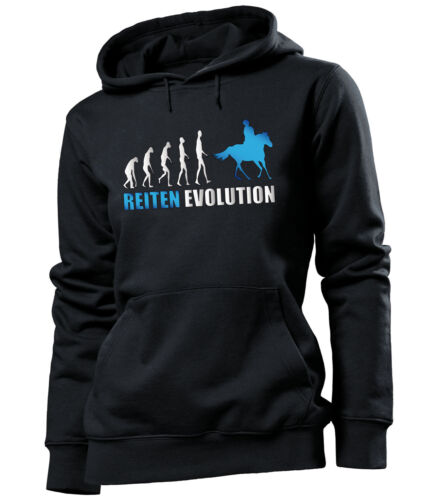 Damen Kapuzenpullover S-XL REITEN EVOLUTION