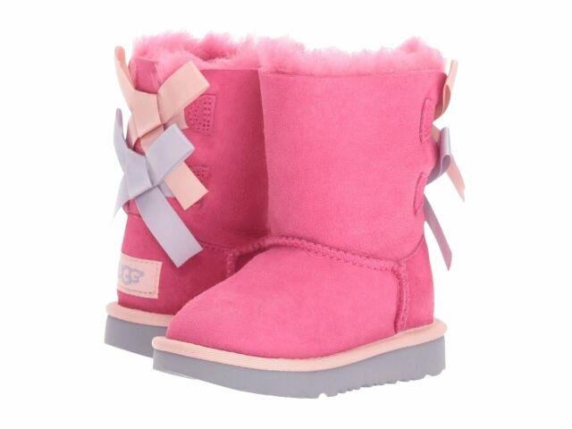 UGG Girls T Bailey Bow II Pull-on Boot