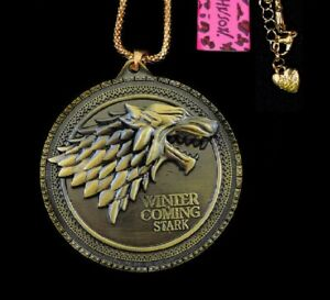 Betsey-Johnson-GOT-Game-of-Thrones-Charm-Pendant-Chain-Necklace-Free-Gift-Bag