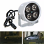 4 LED Infrared Night Vision IR Light Illuminator Lamp IP Camera cctv security
