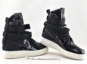 Nike SF AF1 SE PRM -CHOOSE SIZE- AJ0963-001 Special Field 1 Patent ... 3dd74a697