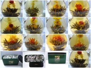 24-Organic-Blooming-Flower-Green-Tea-Variety-Gift-Pack