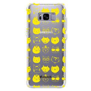 AMZER-Slim-Soft-Silicone-TPU-Rubber-Gel-Clear-Back-Case-Cover-for-Galaxy-S8-Plus