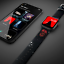 thumbnail 9 - MobyFox Star Wars Darth Vader Apple Watch 42mm, 44mm Band ST-DSY42STW2003
