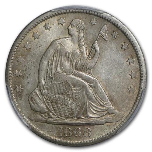 1868-S Liberty Seated Half Dollar AU-55 PCGS SKU#181890