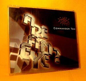 MAXI-Single-CD-Commander-Tom-Are-Am-Eye-4TR-1996-Hard-Trance-RARE