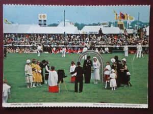 POSTCARD NORFOLK DIAMOND JUBLIEE PAGENT  NORFOLK SHOW - Tadley, United Kingdom - Full Refund less postage if not 100% satified Most purchases from business sellers are protected by the Consumer Contract Regulations 2013 which give you the right to cancel the purchase within 14 days after the day you receive th - Tadley, United Kingdom