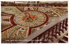 R279309 Edinburgh. Floral Clock. West Princes Street Gardens. Valentine. Carbo C