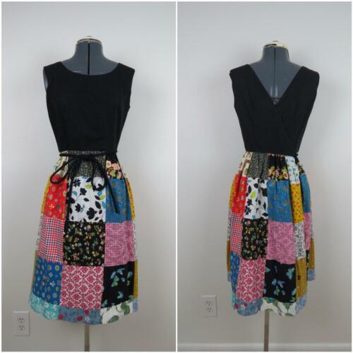 1960s Swirl Brand Dress Vintage Wrap Dress with Pa