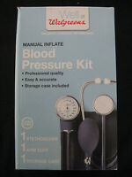 Well At Walgreens Manual Inflate Blood Pressure Kit Open Box