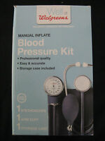 Well At Walgreens Manual Inflate Blood Pressure Kit In Box