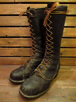Work Boots Logger Boots Size 12D