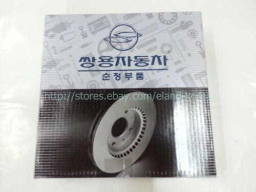 Genuine RR BRAKE DISC for Ssangyong REXTON,ACTYON SPORTS ,KYRON #4840109002
