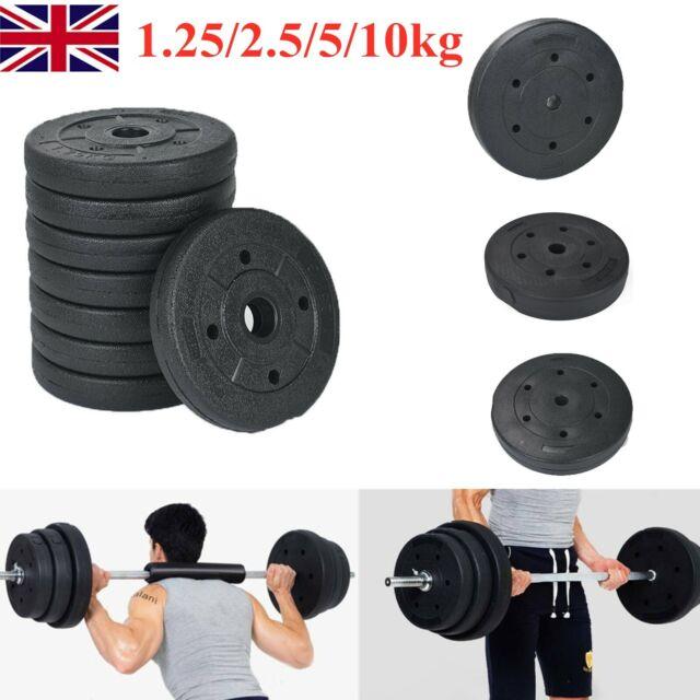 Bodyrip 4ft Barbell Vinyl Weight Set 50kg 1 Standard Bar Home Gym Training For Sale Ebay