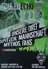 Programm 2005/06 Bor. Mönchengladbach - Hannover 96