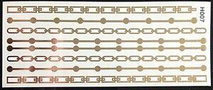 solo-uso-Tatuaje-Flash-Temporal-Classic-Gold-7-piezas-Pulsera-Cadena-De-Cuello