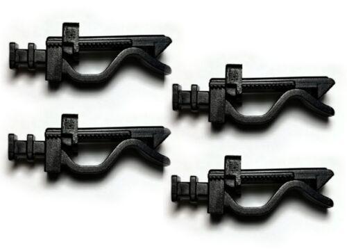 Cuatro clips para soporte de rejilla ventilación de juez//hr ventilación clips de sustitución