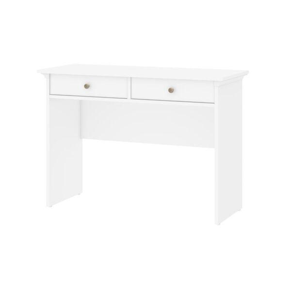 Paris 2 Drawer Desk, White For Sale Online