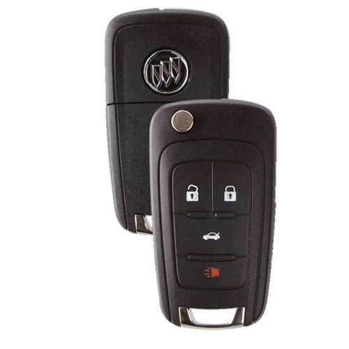 New Flip Key Remote Key Fob for Buick Lacrosse Encore Regal Verano Allure