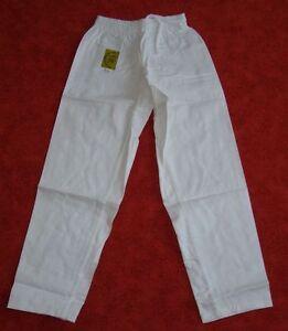 Hose-weiss-fuer-Taekwondo-verschiedene-Groessen-lieferbar