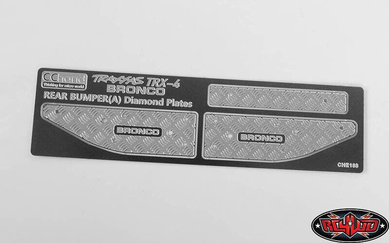 RC4WD KS Rear Bumper Silver Traxxas TRX-4 /'79 Bronco Ranger XLT VVV-C0509