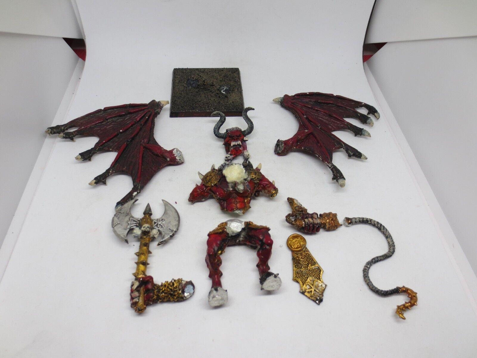 Citadel Warhammer Chaos Bloodthirster of Khorne 1990s OOP Metal Painted G184