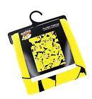 Pokemon Pikachu Lightweight Fleece Throw Blanket 48 x 60 Inches