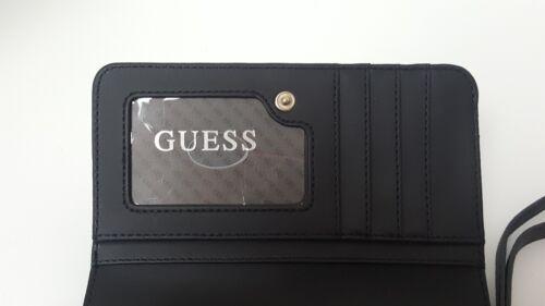 Guess Katlin Brown or Black Medium Wallet or Tech Wristlet Clutch NWT