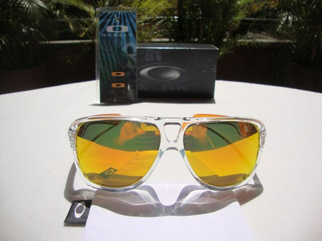 oakley oo9150 03 dispatch ii sunglasses persimmon fade fire iridium rh ebay com