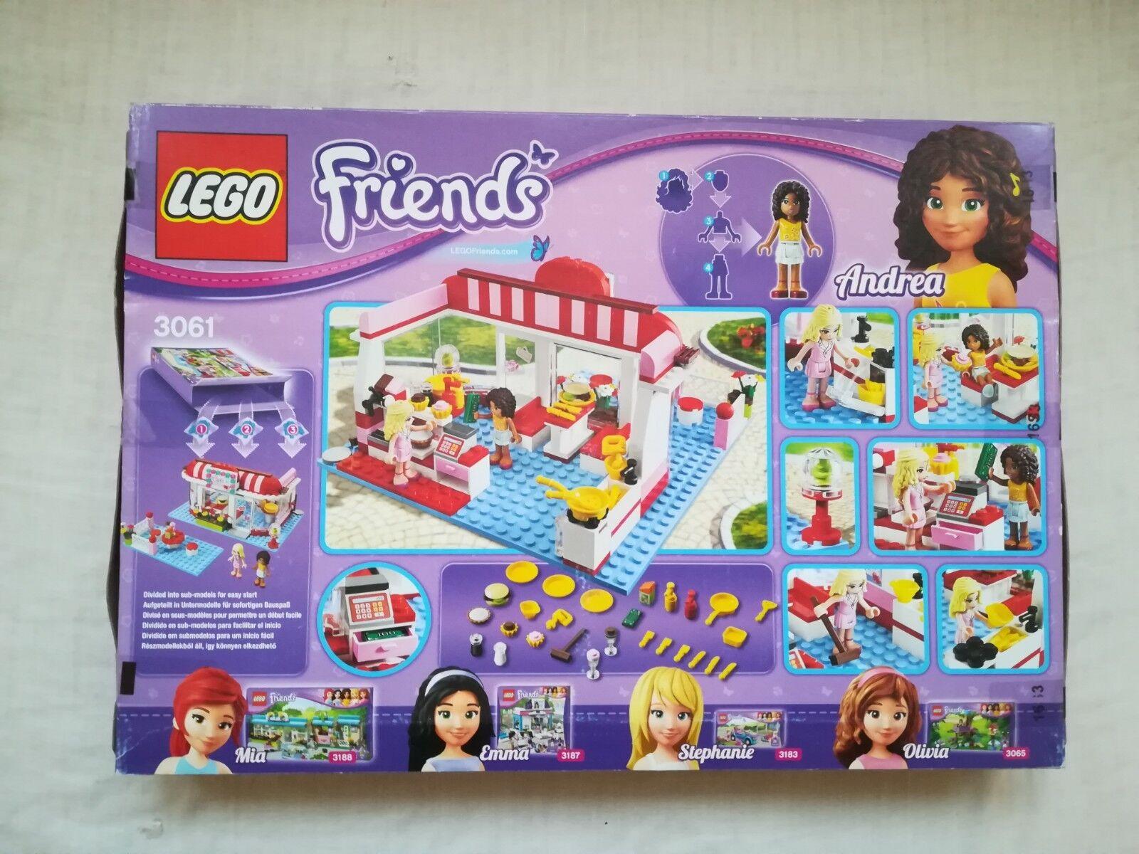 3061 Scellé Lego Friends Park Cafe Neuf City 80mnvNOw