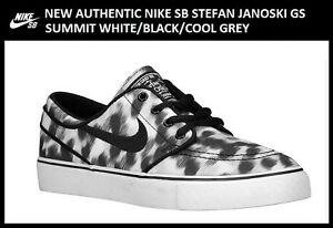 New-Authentic-Nike-SB-Stefan-Janoski-5-5Y-GS-Black-Women-039-s-size-7