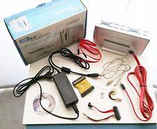 """BOX CASE 3 IN 1 IN ALLUMINIO USB 2.0 HARD DISK ESTERNO IDE SATA 3.5"""" VENTOLA 8CM"""