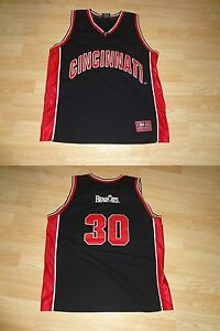 7268252a0a17 Men s Cincinnati Bearcats  30 XL Colosseum Athletics (Black ...