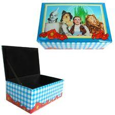 Wizard Of Oz Dortothy Lion Tin Man Scarecrow Four Frineds Glass Music Box NEW