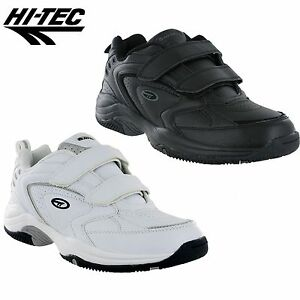 mens hitec blast velcro walking running trainers gym
