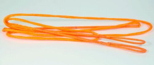 "67/"" 8125 G Sunset Orange Arc Bowstring-par 60X Custom Cordes Bow Traditional"