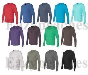 Next-Level-Tri-Blend-Hoodie-Lightweight-Pullover-Hoody-Mens-SIZE-XS-2XL-6021