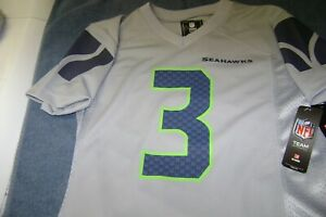Seattle Seahawks Russell Wilson #3 YOUTH 10/12 MEDIUM Jersey ...