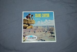 SAWYERS-VIEWMASTER-PACKET-REF-A-361-GRAND-CANYON