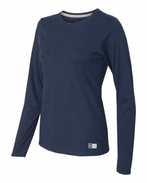 e709f93933 Russell Athletic Women's Essential Long Sleeve Tee for sale online ...
