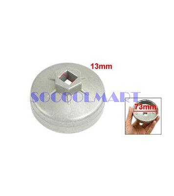 1Pcs Auto Car 13mm Drive 73mm 14 Flutes Oil Filter Cap Wrench Socket Cup