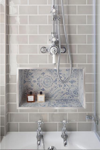 Tile Samples Devon Arctic Grey Flat Metro Gloss Bathroom Kitchen Wall Tiles