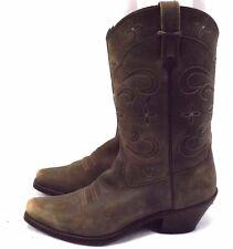Ariat Women's Cowboy Western Boots, Sz 10 B EU 41.5, Brown Leather, Style 13629